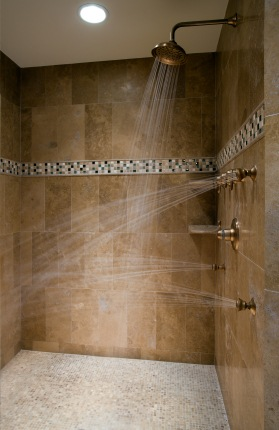 Shower Plumbing in Menges Mills PA by Drain King Plumbing And Drain Services.